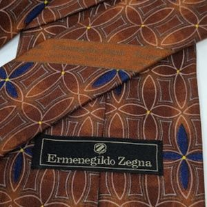 Ermenegildo Zegna silk tie made in Italy